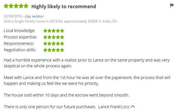 Lance Frank Review